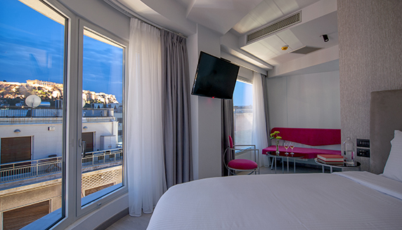 Executive Double Room with Acropolis View